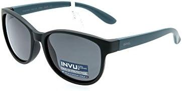 INVU Gafas de sol polarizadas Bimbo K 2511 A Negro Extensible ...