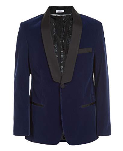 Calvin Klein Boys' Big Formal Suit Jacket, Imperial Blue, 16