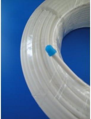 10 m, 6 mm // 1//4 pulgadas color blanco Tubo de agua para frigor/ífico Side by Side amarillo azul o rojo