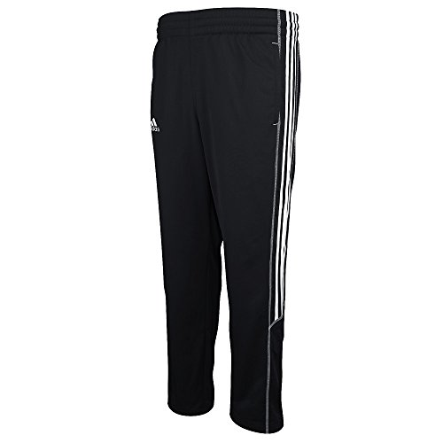 adidas Climalite Select Mens Training Pant Black-White (Small)