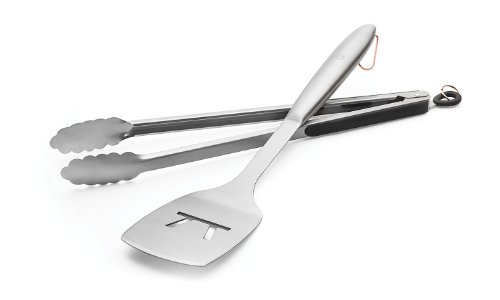 Outset Stainless Steel Tongs - 8
