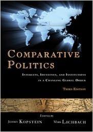 comparative politics kopstein jeffrey lichbach mark