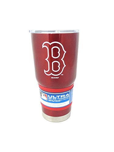 Boston Red Sox Body - Boelter MLB Boston Red Sox 30 oz. Ultra Tumbler MLB Boston Red Sox, Black, Small