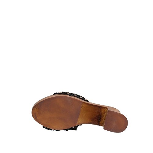 mujer zapato de cuero Café Noir ONC603 negro