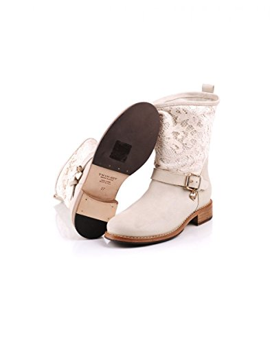 Women's white Off Boots Twin Set No vwgxqZ