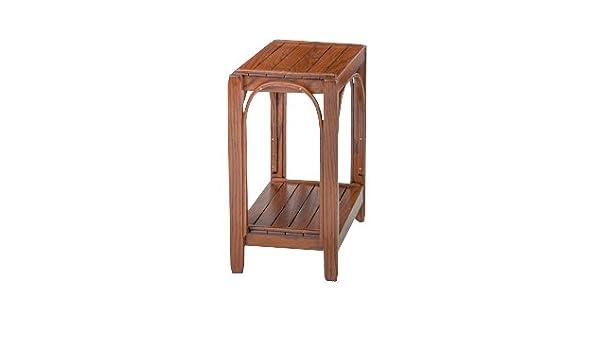 Remarkable Amazon Com Furniture Barn Usa Rustic Side Table Oak In Creativecarmelina Interior Chair Design Creativecarmelinacom