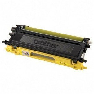 (GLB Premium Quality Remanufactured Replacement Toner Cartridge for Brother TN115 Yellow)