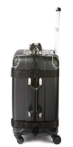 VinGardeValise - Up to 12 Bottles & All Purpose Wine Travel Suitcase (Black) by VinGardeValise (Image #5)