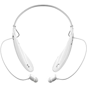 LG Electronics Tone Ultra (HBS-800) Bluetooth Stereo Headset - Retail Packaging - White