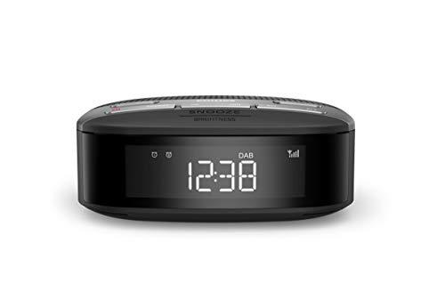 Philips R3505/12 Klokradio, DAB+ Radio (Dubbel Alarm, Sleeptimer, Compact Design, DAB+-/FM-Digitale Radio, Automatische…