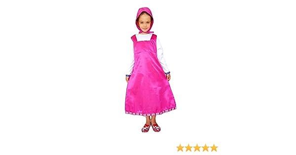 Disfraz de Masha - disfraz - carnaval - halloween - color rosa ...