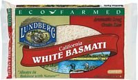 Eco Farmed Basmati White Rice by LUNDBERG FAMILY FARMS