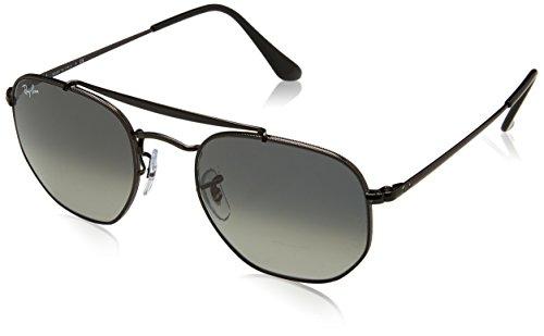 Ray-Ban les lunettes de soleil de maréchal en noir gris vert RB3648 002/71 51 Grey Green Black