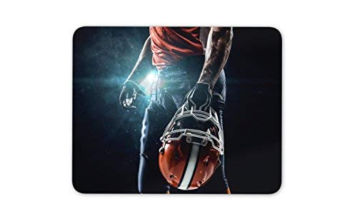 American Football Player Mouse Mat Pad NFL Brother Dad Gift Computer Gift #8207