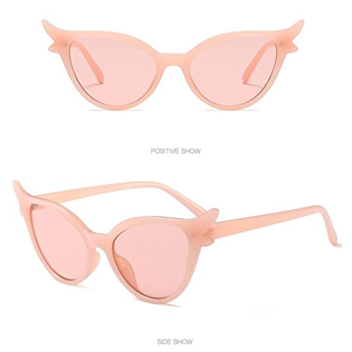 Moda de sol Super A Retro Mujer Vintage Gafas Cat Keepwin Eyewear Eye Triangle dgpWYdq0