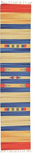 - Unique Loom Karadagh Collection Southwestern Tribal Navajo Cream Runner Rug (2' 0 x 9' 2)