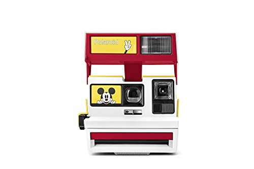 Polaroid Originals 4895 Custom 600 Camera - Mickey's 90Th Anniversary Limited Edition (Polaroid Camera Film Disney)