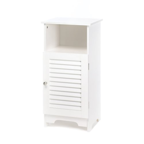 Smart Living Company 10014707 Nantucket Storage Cabinet (Cabinets White Bedside Sale)