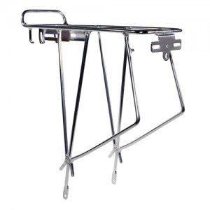 Keirin hinten Gepäckträger 66cm/Mountain Bike Silber