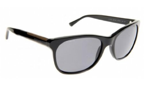 Burberry BE4123 Sunglasses-3001/81 Black (Polarized Gray Lens)-57mm