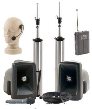 Anchor Audio MEGA-DPDUAL-HH-HS MegaVox Dual Deluxe Package