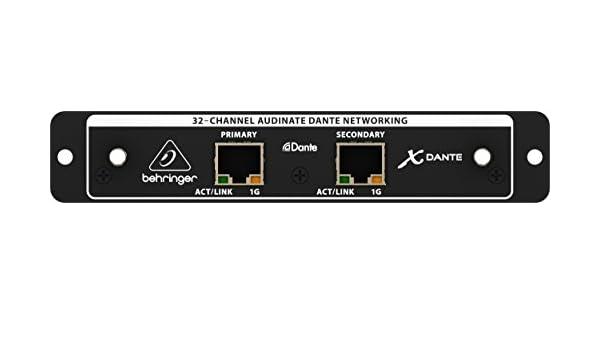 Behringer - X-dante tarjeta expansión memoria: Amazon.es ...