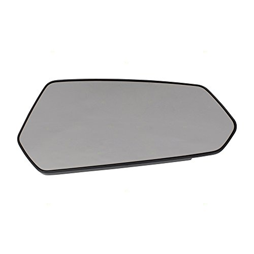 Passengers Side View Mirror Glass & Base Replacement for 10-15 Chevrolet Camaro 92235873 AutoAndArt