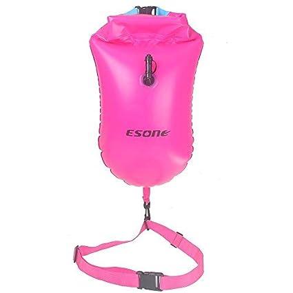 Esone - natación boya de seguridad y bolsa seca / temporada para abierto agua nadadores,