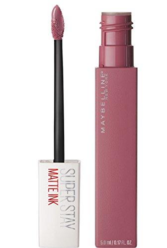 Maybelline Makeup SuperStay Matte Ink Liquid Lipstick, Lover Liquid Matte Lipstick, 0.17 fl oz