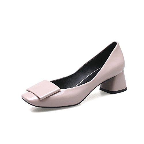 Grob Schuhe Rauh mit XZGC Lady Lackleder 4qFH4dw