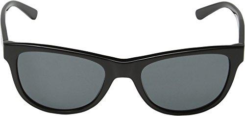 DKNY Women's 0dy4139 Square Sunglasses, Black, 55 mm