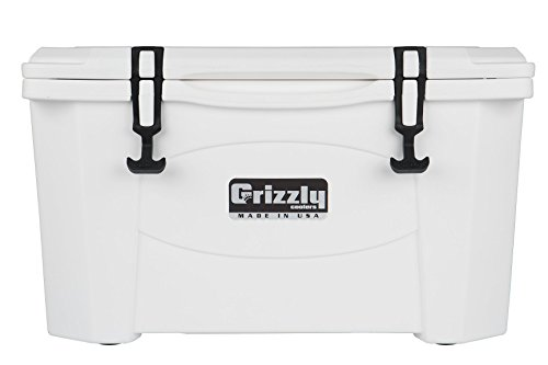 Grizzly 40 Quart White/Cooler