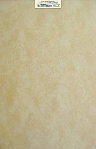 50 Parchment 60# Text (=24# Bond) Paper Sheets - 11
