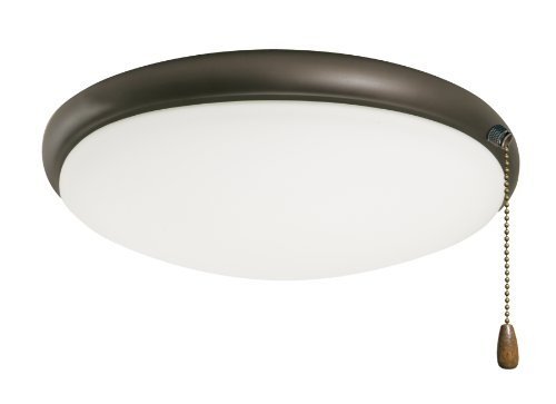 Emerson Ceiling Fans LK65ORB Moon Light Fixture for Ceiling Fans, Candelabra - Emerson Glass Ceiling Fan