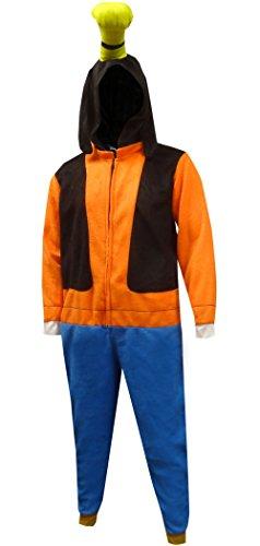 Disney's Goofy Dress Like Goofy Guys One Piece Pajama for Men (Large/X-Large) -