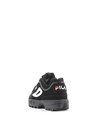 1010490 Negro Low Zapatillas Disruptor Zapatos 12V S Hombres FILA Bajas wUTqSnI