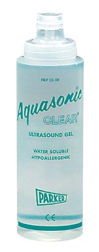 Parker W60693S Aquasonic Clear Ultrasound Gel, 0.25 Litre, 12CT
