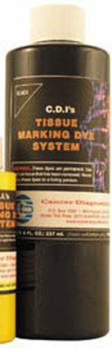2337282 Tissue Marking Dye Blue 8oz sold indivdually sold as Individually Pt# 22500019 by Cancer Diagnostics by Cancer Diagnostics