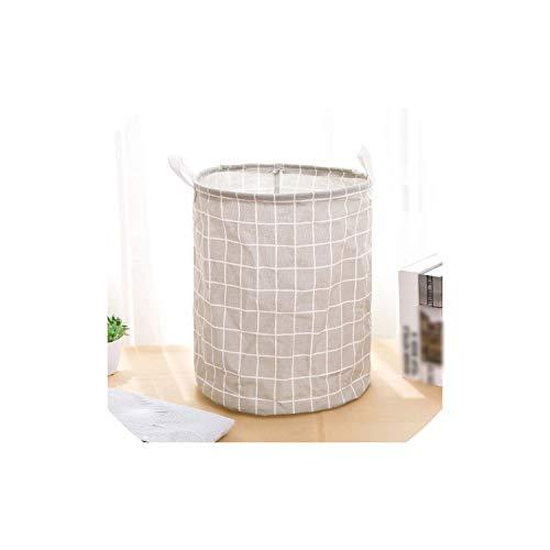 fantasticlife06 Waterproof Folding Basket Clothes Storage Barrel Standing Kids Toys Storage Bucket Organizer Home Decoration,10