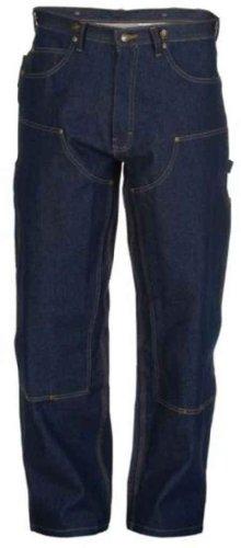 Men's Berne Relaxed-fit Double Knee Denim Carpenter Jeans, DENIM, W38 L30