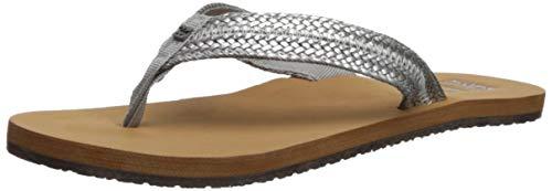 Billabong Women's Kai Sandal, Silver, 7 M US