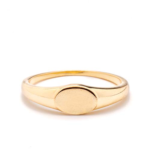 - Timeless Forever Rings (Cyndi Minimalist Gold Ring)