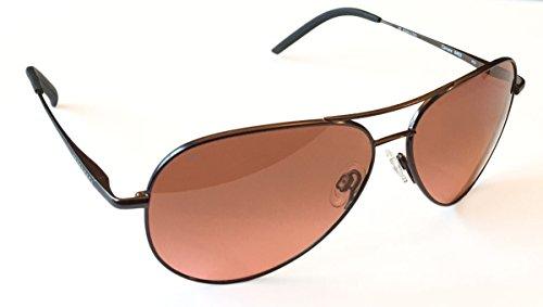 Serengeti Carrara 8453 Satin Dark Gun, Non Polarized Drivers Gradient - Sunglasses Carrara