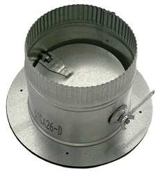 Press On Collar With Damper, 7 In