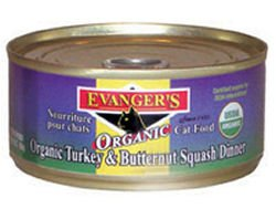 Evanger's 100-Percent Organic Turkey with Butternut Squash D
