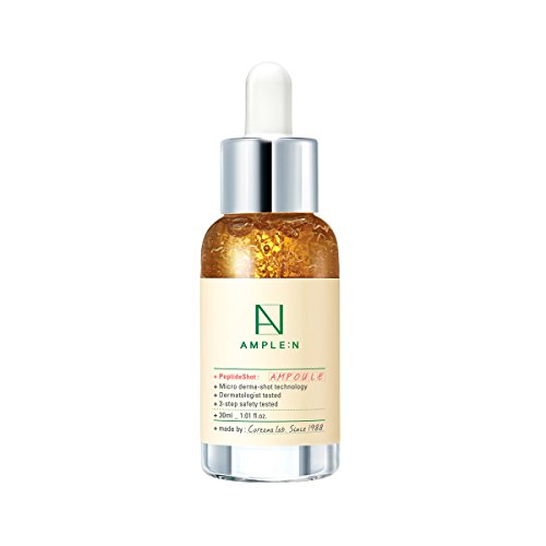 ([AMPLE:N] Peptide Shot Ampoule 1.01 fl. oz. (30ml) - Visible Elasticity Care with Highly Concentrated Peptide Thread, Anti Wrinkle & Powerful Moisture Circulation, Youthful Radiant Skin)