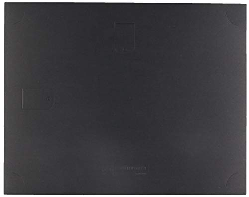 Southworth Black Certificate Holder, 9.5 x 12 inches, 105 lb, Linen Finish, 10 Count (PF18) ()