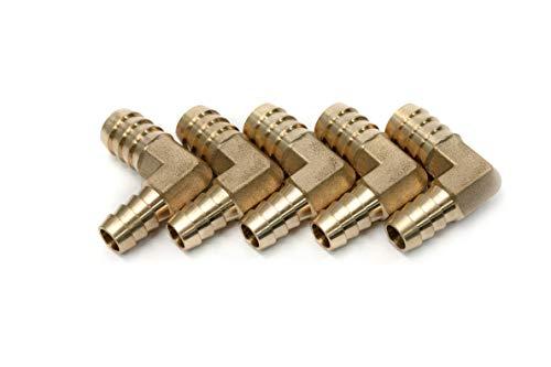 Reducing Elbow Fitting - LTWFITTING Generic 90 Deg Reducing Elbow Brass Barb Fitting 1/2