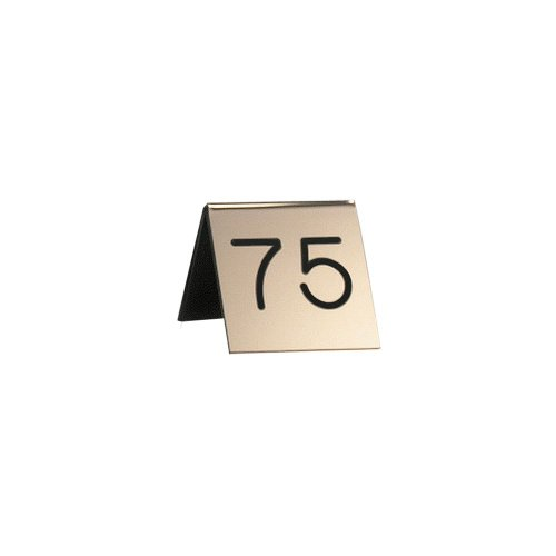 Cal-Mil 269-11 Engraved Number Tent, 3