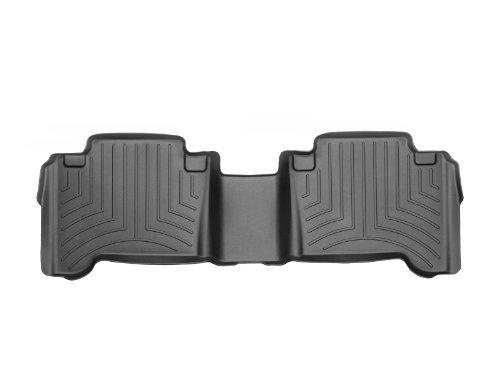 WeatherTech Custom Fit Rear FloorLiner for Toyota Tacoma (Black) (Weathertech Bed Mats)